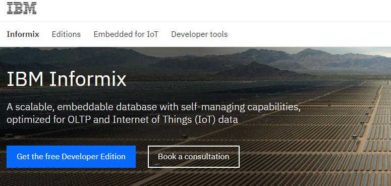 Informix database management software